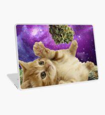 Space kitten  Laptop Skin