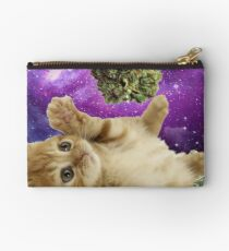 Space stoner kitten  Studio Pouch
