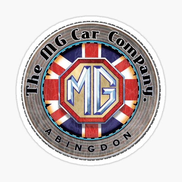 MG Cars Abingdon England Sticker