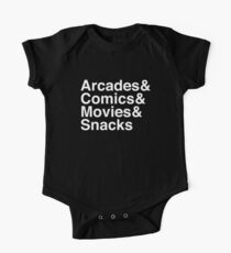 Arcades & Comics & Movies & Snacks One Piece - Short Sleeve