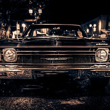 Classic American Cars by Tee-Art