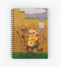 STINKY'S INAUGURAL PORTRAIT Spiral Notebook