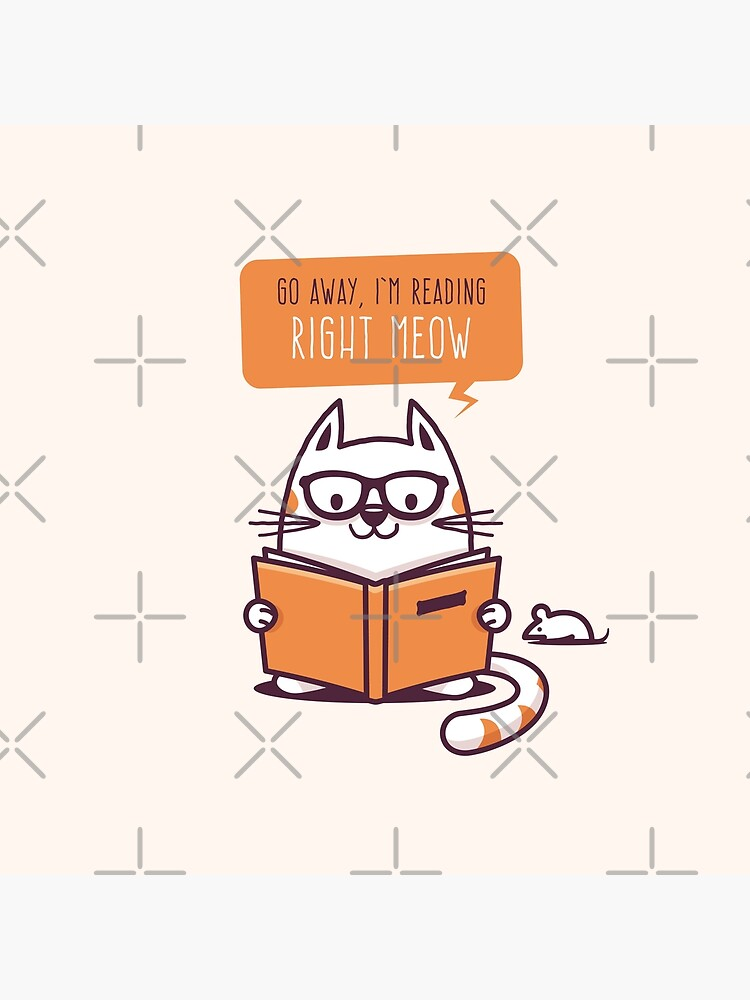 Reading Right Meow for book lovers by zoljo