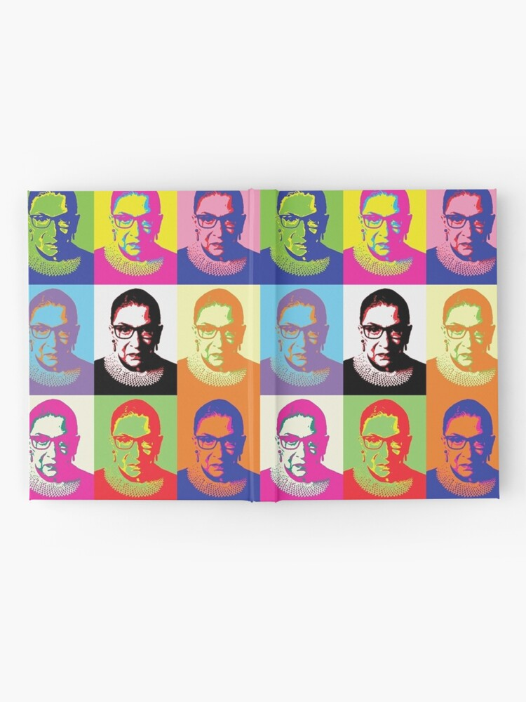 Alternate view of ruth bader ginsburg Hardcover Journal