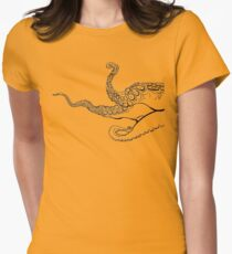 Tentacles (Light) Women's Fitted T-Shirt