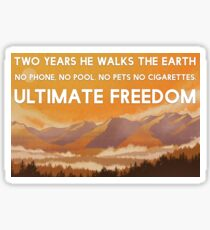 Two years he walks Sticker