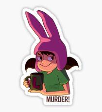 Murder! Sticker