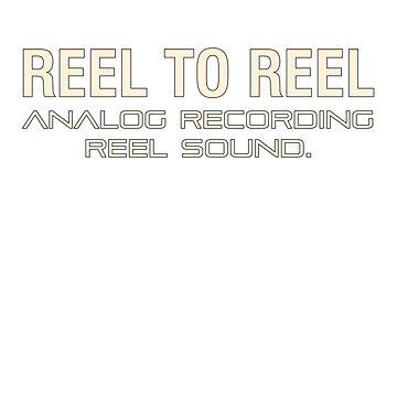 Reel To Reel Analog Recording by mayala