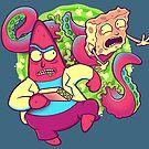Pat-Rick and Sponge-Mort by kgullholmen