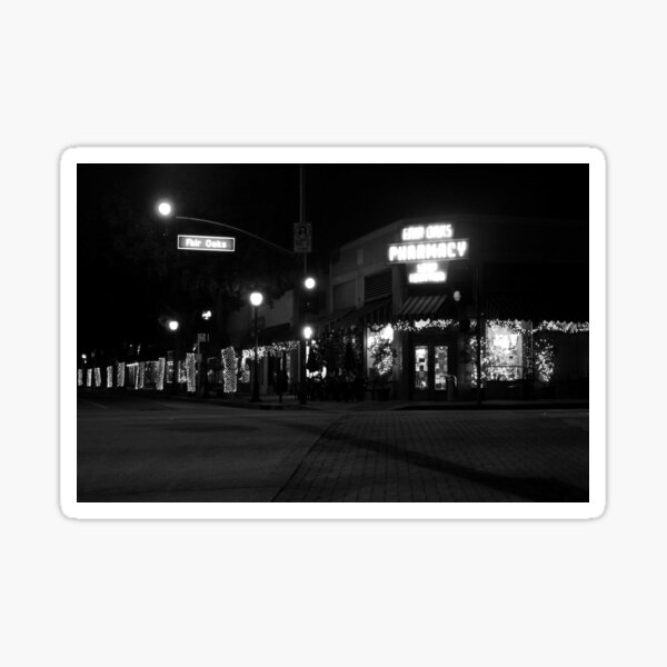 Fair Oaks, Night Sticker