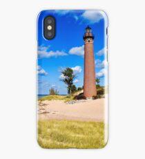 Petite Pointe Au Sable Lighthouse iPhone Case