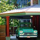 Green Truck by Laurie Allee