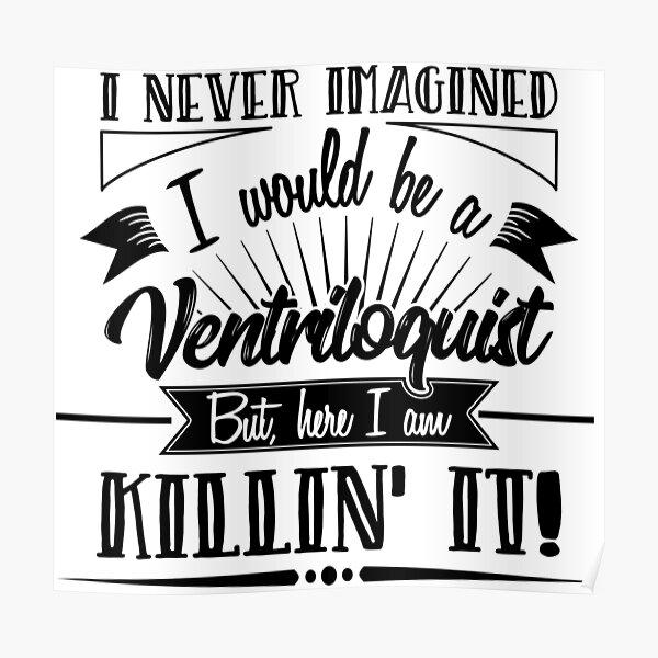 Ventriloquist   Poster