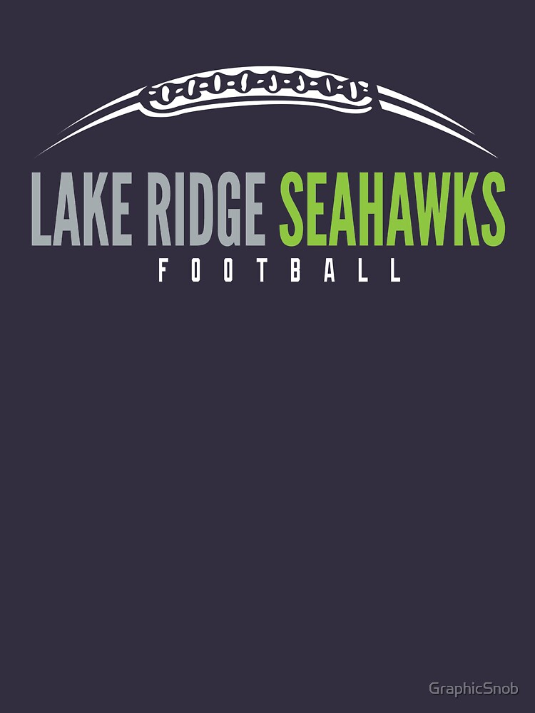 Lake Ridge Seahawks | Laces by GraphicSnob