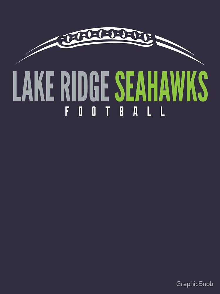Lake Ridge Seahawks | Laces by GraphicSnob