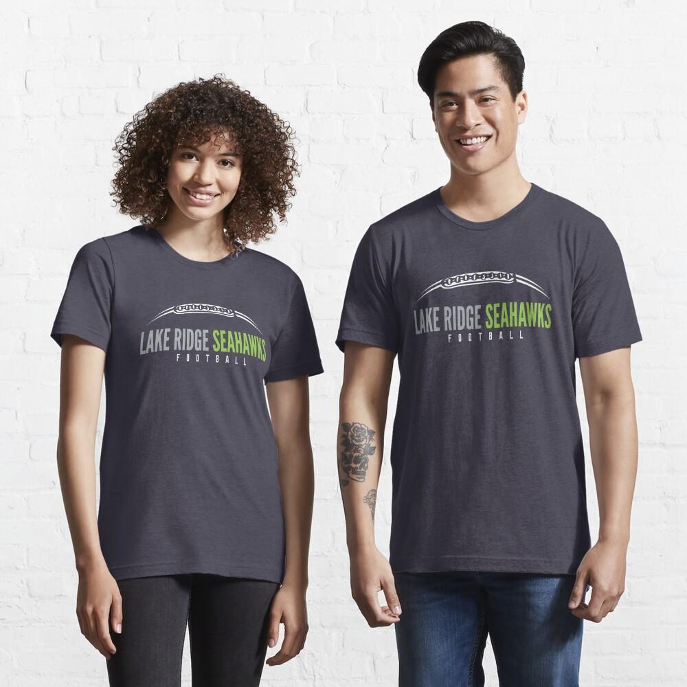 Lake Ridge Seahawks   Laces Essential T-Shirt