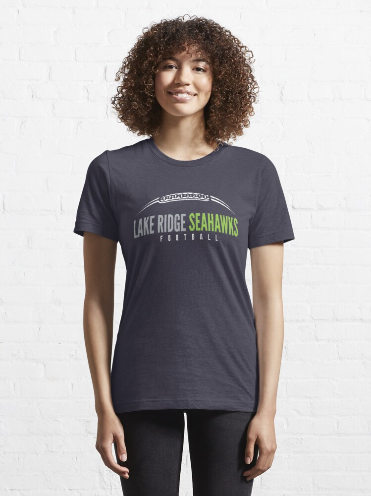Alternate view of Lake Ridge Seahawks   Laces Essential T-Shirt