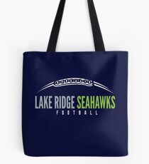 Lake Ridge Seahawks | Laces Tote Bag