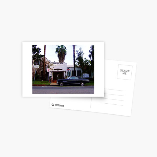 Theater Parking Postcard