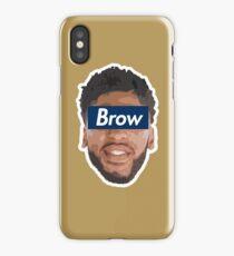 Brow 1 iPhone Case/Skin