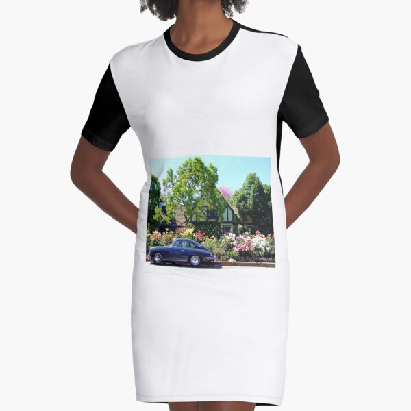 Fairy Tale Ride Graphic T-Shirt Dress