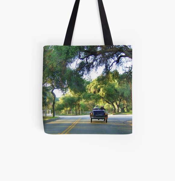 Gatsby Drive All Over Print Tote Bag