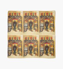 Old Russian icon The Intercession Scarf