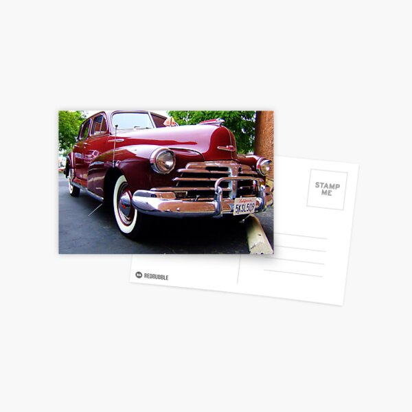 Chevrolet Postcard