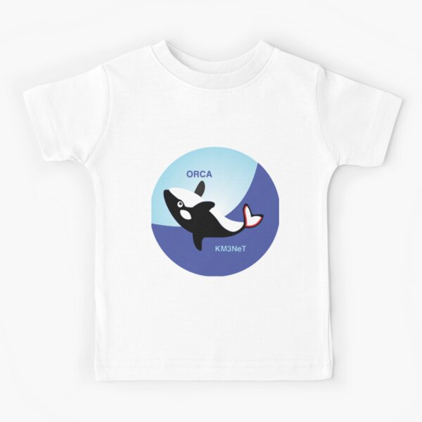 ORCA (Oscillation Research with Cosmics in the Abyss) Logo Kids T-Shirt
