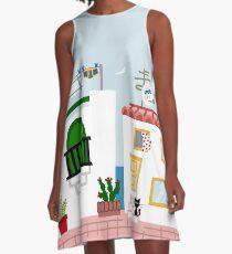 Seaside A-Line Dress