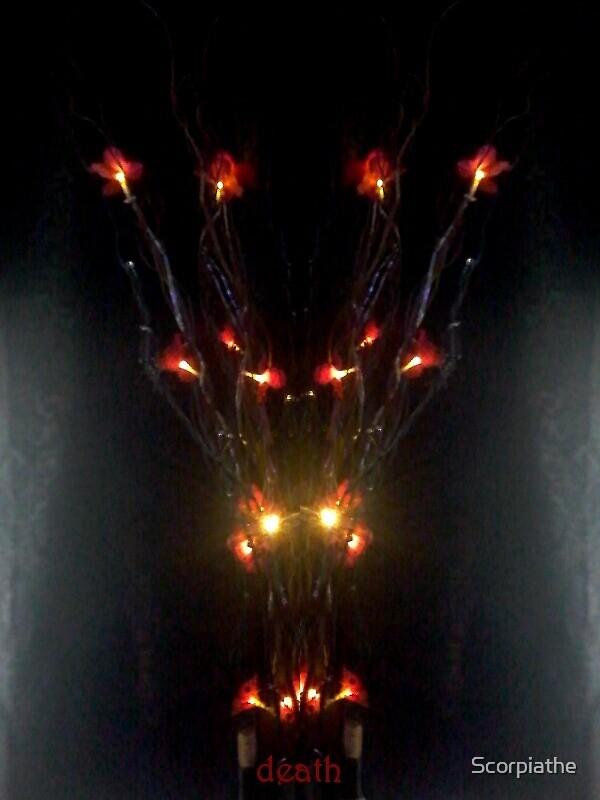 Death Flower by Scorpiathe