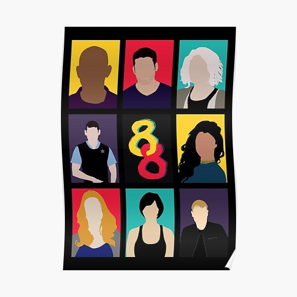 Sense8 Colors Poster