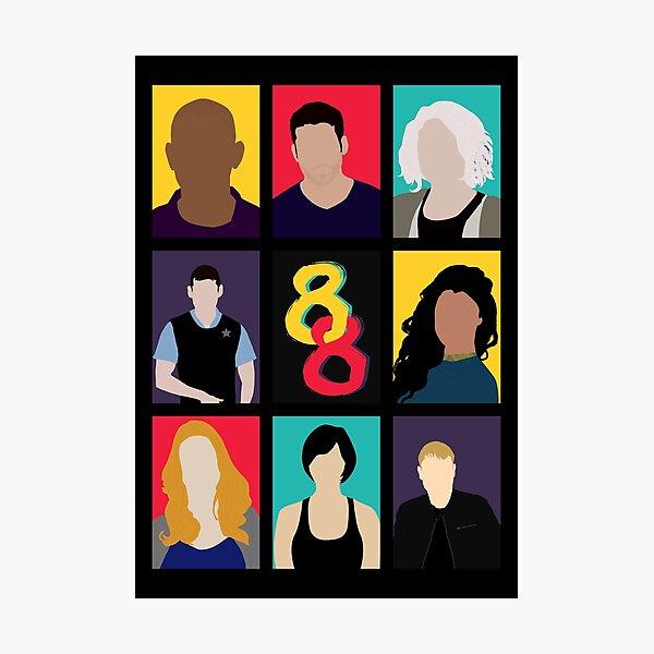 Sense8 Colors Photographic Print
