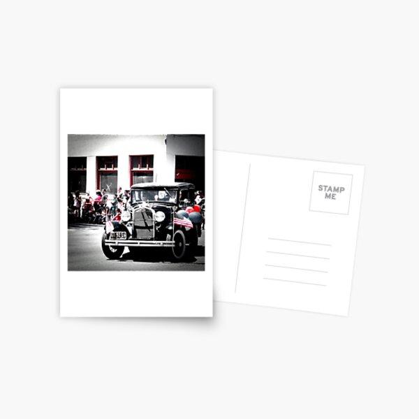 Parade Ride Postcard