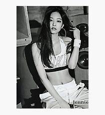 Gorgeous Jennie Black pink  Photographic Print