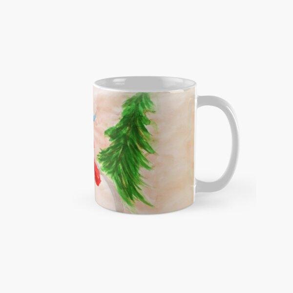 Christmas Snowman Couple  Classic Mug