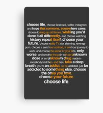 Trainspotting 2 Canvas Print