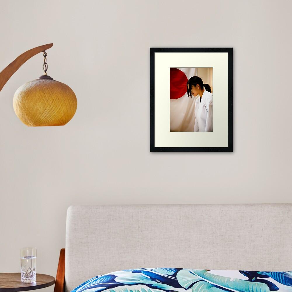 AniRei Framed Art Print