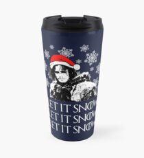 Laissez la neige - Noël Mug de voyage