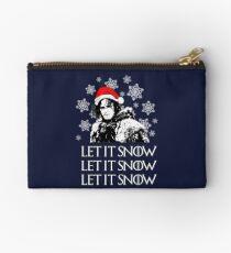 Let it snow - Christmas  Studio Pouch