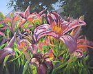 Sunny Daylilly by Karen Ilari