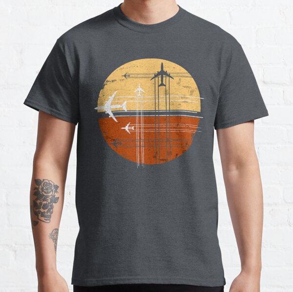 747 Sunrise | Vintage Retro Jumbo Jet Classic T-Shirt