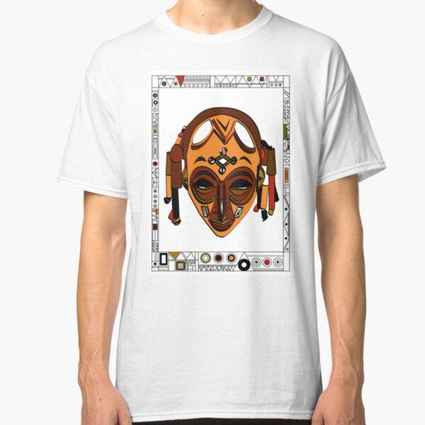 African Mask Camiseta clásica