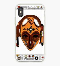 African Mask Vinilo o funda para iPhone