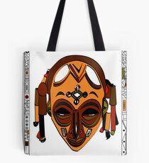 African Mask Bolsa de tela