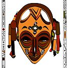 «African Mask» de Ruth Isern