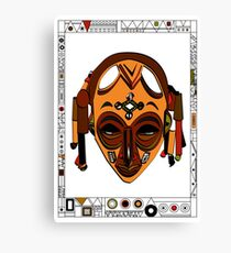 African Mask Lienzo