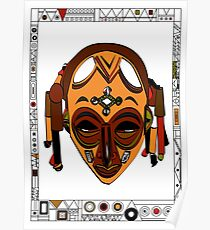 African Mask Póster