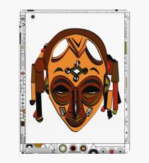 African Mask Vinilo o funda para iPad