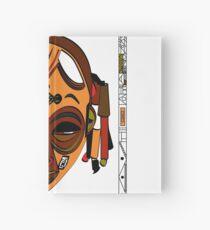 African Mask Cuaderno de tapa dura